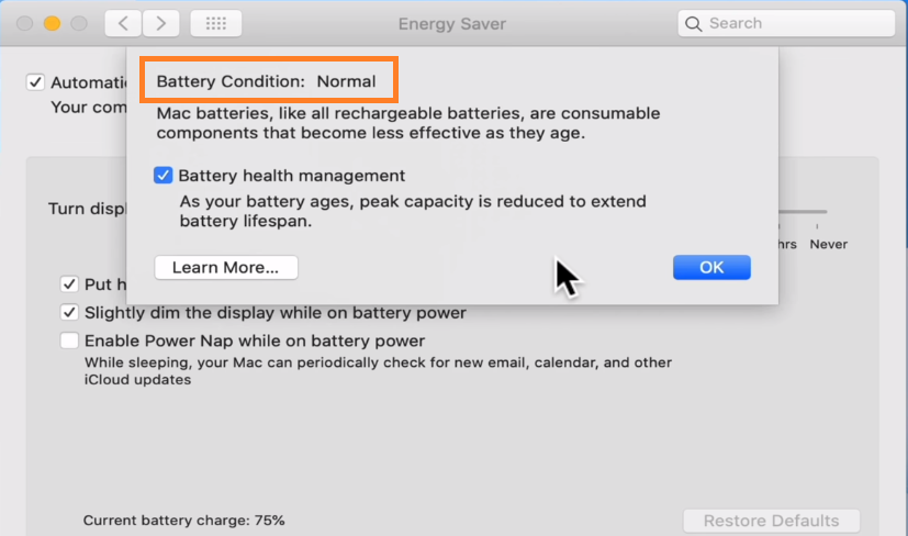 fix plugged in not charging issue in Mac