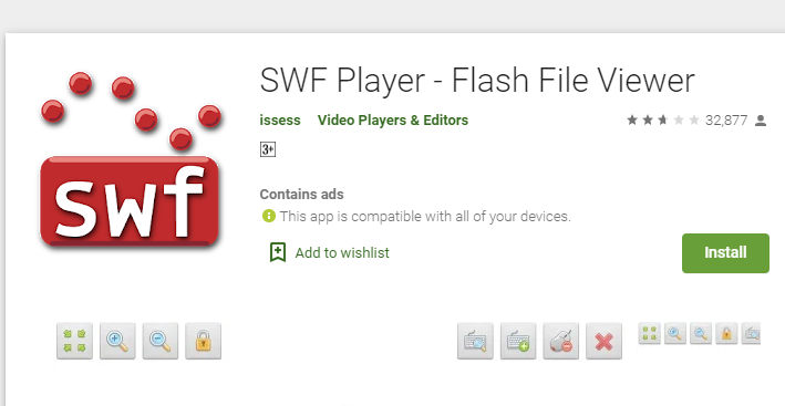 Open swf Files in Android