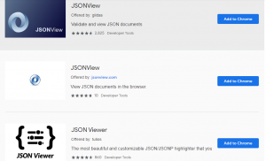 Open JSON File in Chrome